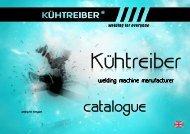 DOWNLOAD - NEW catalogue 2013 (pdf 6,67 MB) - KÜHTREIBER sro