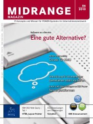 Software as a Service – eine gute Alternative - Midrange Magazin