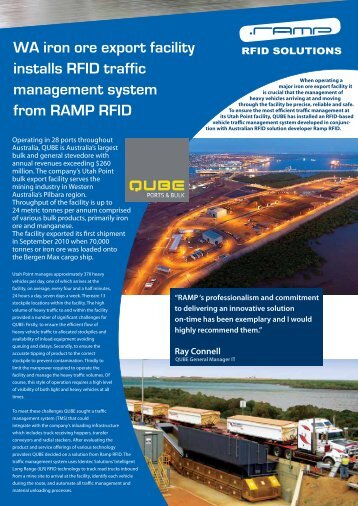 view the case study - Ramp