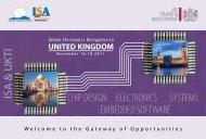 IESA UK Delegation 2011 - india electronics & semiconductor ...