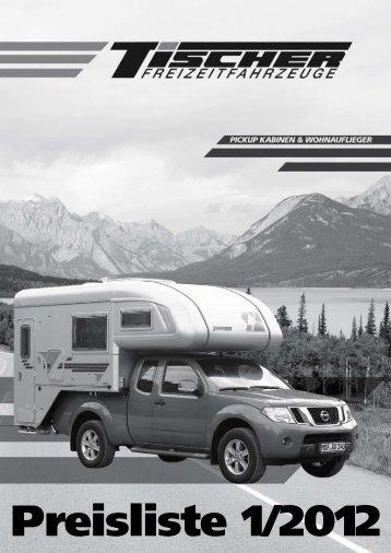 Preisliste 1/2012 - Tischer Freizeitfahrzeuge