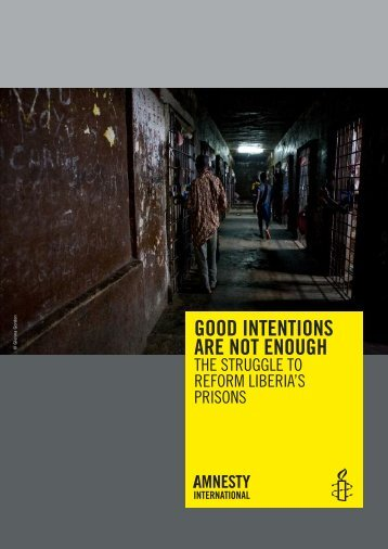 Good Intentions Are Not Enough - Refworld