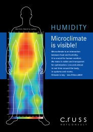 Microclimate is visible! - C.RUSS NETCONSULT