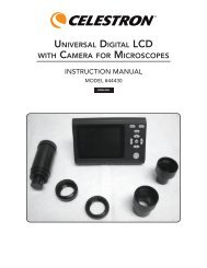 universal digital lcd with camera for microscopes - Celestron