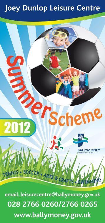 summer scheme - Visit Ballymoney