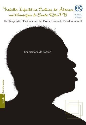 Trabalho Infantil na cultura do Abacaxi - OIT en América Latina y el ...