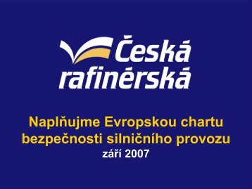 Naplňujme Evropskou chartu bezpečnosti silničního provozu