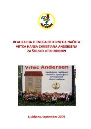 LDN 2008/09 - Vrtec Hansa Christiana Andersena