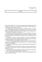 BÁNDI GYULA: Környezetvédelem és ... jog - IAS