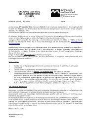 Einladung zur Wahl des Elternbeirates 2012/14 - Gymnasium ...