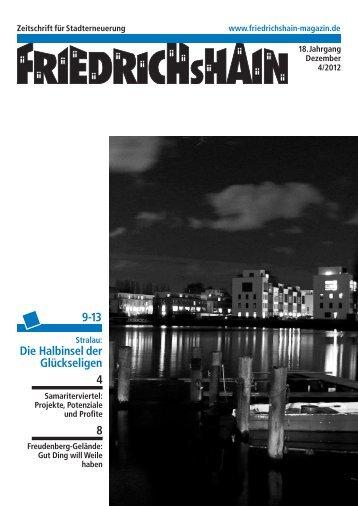 fried 3.09 - Friedrichshain Magazin