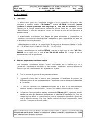 (1) appareil(s) - Global Tardif Groupe manufacturier d'ascenseurs