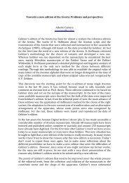 text - Avestan Digital Archive