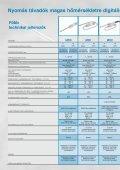 Nyomásérzékelők/ -távadók összefoglaló adatlapja (1Mb) - Page 6