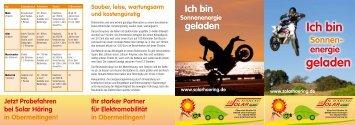 Ich bin geladen - Häring Solar GmbH