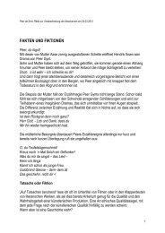 Fakten und Fiktionen - Ottersberg