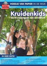 Even voorstellen... De redactie van Kruidenkids Het ... - Wijktijgers