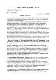 Lettre solennelle préfet - copie - Fédération de l'Oise du PCF