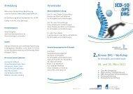 ICD-10 OPS DRG - Klinik für Orthopädie und Unfallchirurgie der ...