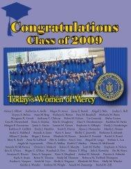 June 2009 Mercian Insert - Mercy High School