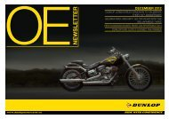 DECEMBER 2012 OE NEWSLETTER - Dunlop Motorsport