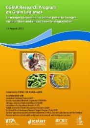 CGIAR Research Program on Grain Legumes: Proposal - Library