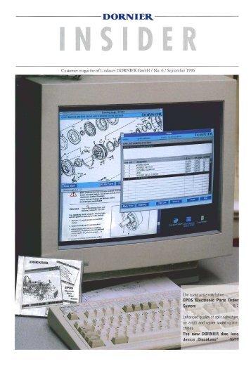 Page 1 Customer n1ag.1r.i:1c of Lindauer DORNIER Gmbh I No. (1 ...
