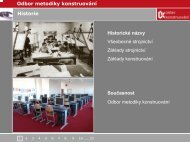 Odbor metodiky konstruování Pedagogičtí pracovníci - Ústav ...