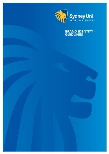 SUSF Brand Guidelines - Sydney University Sport