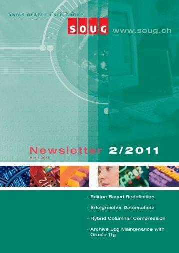 Newsletter 2/2011 - SOUG