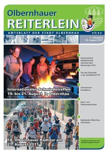 Internationales Schmiedetreffen 19. bis 21. August in Olbernhau 18 ...