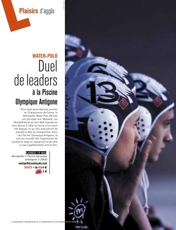 Duel de leaders - Montpellier Agglomération