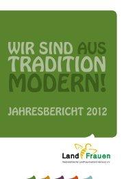 JAHREsbERicHt 2012 - Niedersächsischer Landfrauenverband ...