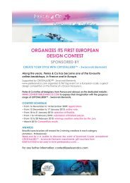 organizes its first european design contest - Create Your Style