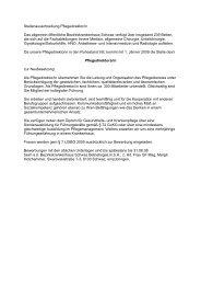 Stellenausschreibung Pflegedirektor/in Das allgemein öffentliche ...