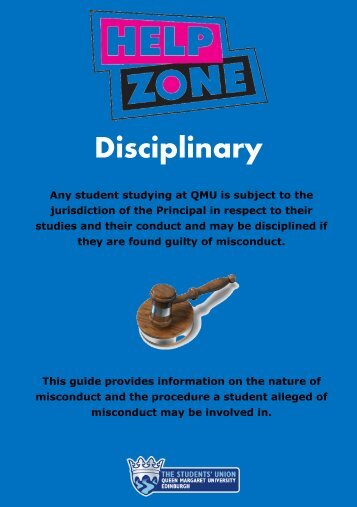 Disciplinary Leaflet