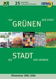 25 Jahre Grüne im Nürnberger Stadtrat - Stadt Nürnberg