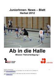 Jun. News Herbst 12 - Basler HC