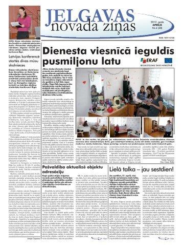 2012. gada aprīlis Nr.4. - Jelgavas rajona padome