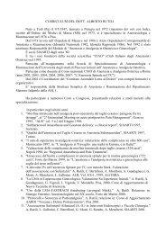 CURRICULUM DEL DOTT. ALBERTO RUTILI Nato a Todi (Pg) il 9/5 ...