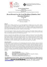 Recent Research on the Local Buckling of Stainless Steel Structural ...