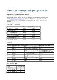 Lecture Tasks - Biomedicum Imaging Unit (BIU)