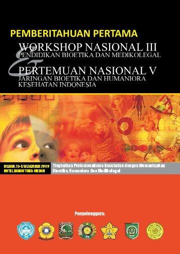 WORKSHOP NASIONAL III - USUpress - Universitas Sumatera Utara