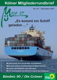 Mach et – Ausgabe 211.indd - Bündnis 90/Die Grünen Kreisverband ...