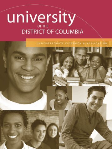 Undergraduate Viewbook - University of the District of Columbia