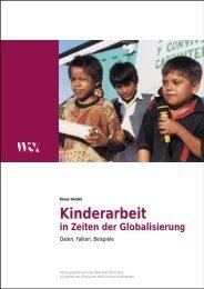 Heidel, Klaus (2003): Kinderarbeit in Zeiten der Globalisierung ...
