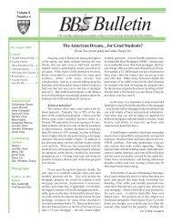 BBS Bulletin July-Aug. 2006 - Division of Medical Sciences Bulletin