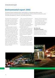 Kemira Environmental report 2005