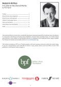 Britten Choral Guide - Page 2