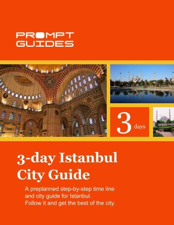3-day Istanbul City Guide - Prompt Guides
